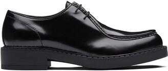 Prada Brushed Leather Paraboot Shoes