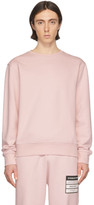 Maison Margiela Pink Elbow Patch Sweatshirt