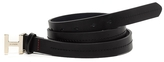 Tommy Hilfiger H Buckle Leather Belt