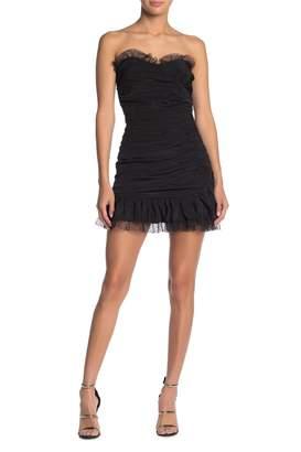 Lovers + Friends Jacqui Strapless Mini Dress