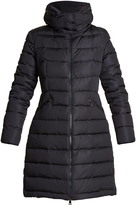 Moncler Flamette stow-away hood quilted-down coat
