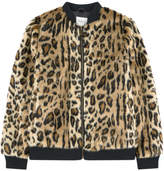 Pepe Jeans False fur bomber jacket