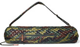 M Z Wallace Metro Camouflage-print Quilted Shell Yoga Bag - Army green