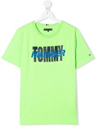Tommy Hilfiger Junior TEEN logo print T-shirt