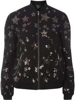 Dorothy Perkins Star Sequin Bomber