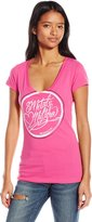 Metal Mulisha Junior's Sweet V Neck Graphic Tee