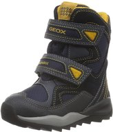 Geox Boy's Orizont ABX Winter Boot Nvy/Yllw 35 M EU