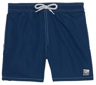Trunks Tom & Teddy Solid Swim Toddler Boys, Little Boys & Big Boys)
