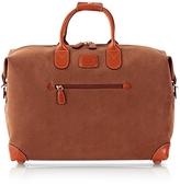 """Bric's Life Camel Micro Suede 18"""" Duffle Bag"""