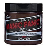 Manic Panic (3 Pack Cream Formula Semi-Permanent Hair Color - Infra Red