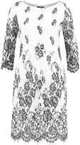 Wallis Cocktail dress / Party dress black/white