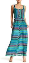 Nanette Lepore Sleeveless Silk Maxi Dress