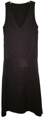 Maison Margiela \N Black Silk Dresses
