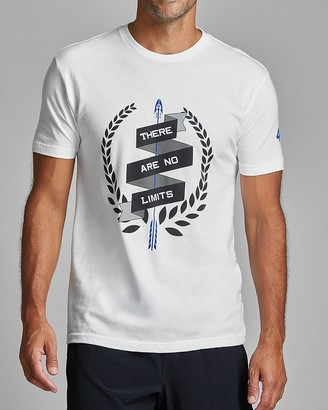 Express Fourlaps There Are No Limits Signature Tee