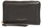 Marc Jacobs Women's Small Recruit Standard Continental Wallet - Black