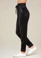 Bebe Velvet Jogger Pants