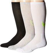 Nike Dri-FIT Cotton Swoosh Crew 3-Pair Pack
