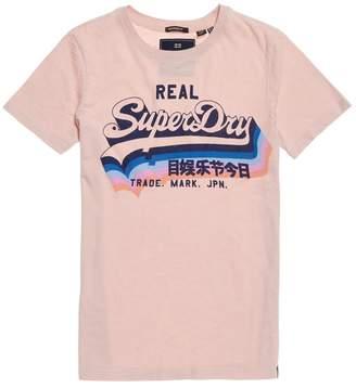 Superdry Vintage Logo Rainbow Short-Sleeved T-Shirt