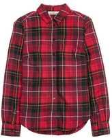 H&M Plaid Flannel Shirt - Red - Ladies