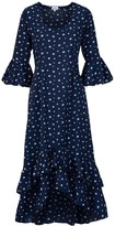 At Last... Navy Star Victoria Dress
