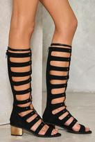 Nasty Gal nastygal School's Out Lace-Up Gladiator Sandal