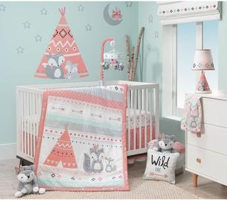 Lambs & Ivy 3-pc. Little Spirit Fox, Teepee & Arrows Crib Bedding Set