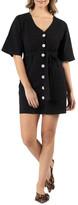 Sass Ellika Button Front Dress