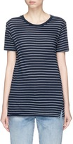 Bassike Stripe organic cotton T-shirt