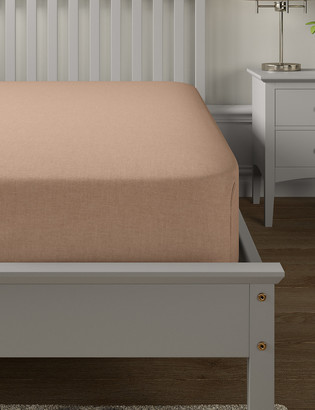 Marks and Spencer Brushed Cotton Deep Fitted Sheet