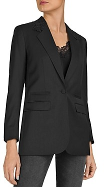 The Kooples New Stretch Smoking Suit Jacket