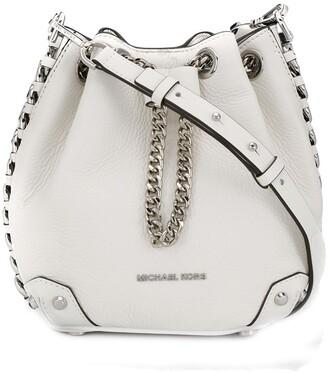 MICHAEL Michael Kors logo plaque bucket bag