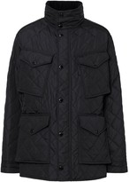 Burberry Packaway Hood Quilted Thermoregulated Field Jacket
