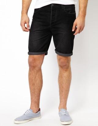 Asos Design ASOS Cord Shorts In Skinny Fit