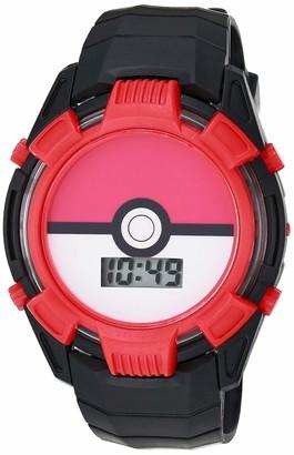 Pokemon Boys' Quartz Watch with Plastic Strap Multicolor 15 (Model: POK4233AZ)