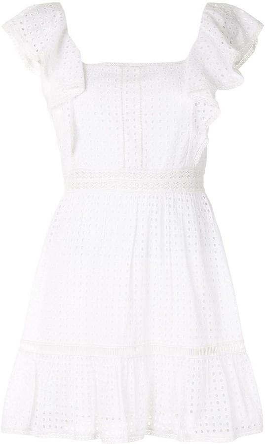 Alice + Olivia Remada ruffled mini dress