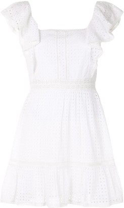 Alice + Olivia Remada ruffled mini dress