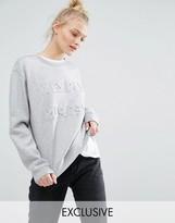 Monki Logo Sweatshirt