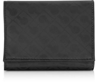 Gherardini Signature Fabric Softy Tri-Fold Purse