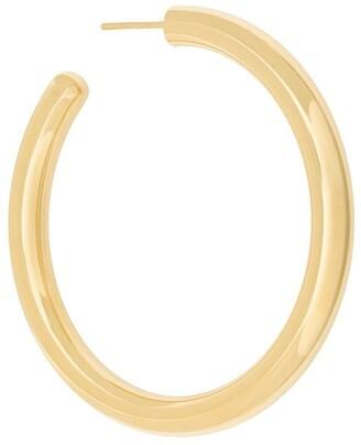 Maria Black Ruby 50 hoop earring