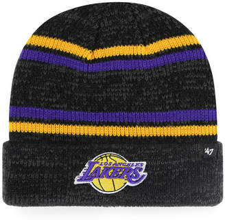 '47 Los Angeles Lakers Marled Stripe Cuff Knit Hat