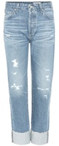 AG Jeans The Sloan Distressed Jeans