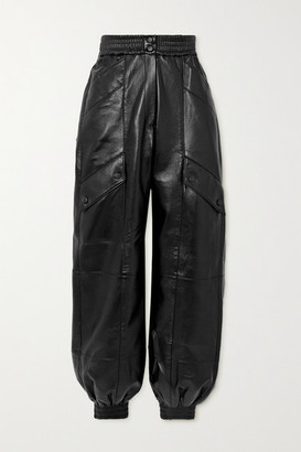 MATÉRIEL Faux Leather Tapered Pants