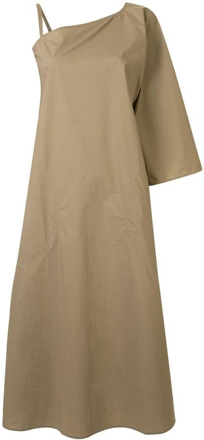 Sofie D'hoore Asymmetric Midi Dress