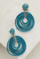 BaubleBar Pinata Beaded Hoop Earrings