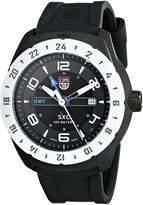 Luminox Men's A.5027 SXC PC Carbon GMT Analog Display Quartz Black Watch