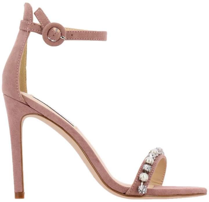 b73ca2be2b Steve Madden Beige Heeled Women's Sandals - ShopStyle