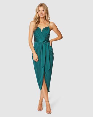 Pilgrim Women's Green Midi Dresses - Nastasia Midi Dress - Size One Size, 8 at The Iconic