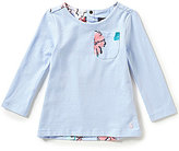 Joules Baby/Little Girls 12 Months-3T Mellow Long-Sleeve Floral Top