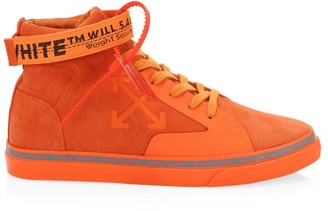 Off-White Mid-Top Double Arrow Sneakers