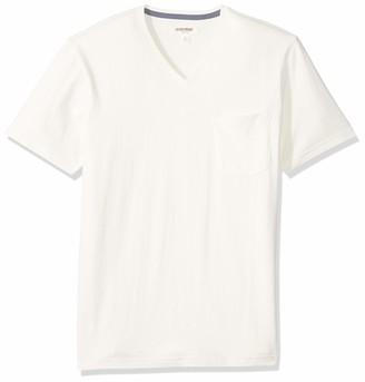 Goodthreads Amazon Brand Men's Soft Cotton Short-Sleeve V-Neck Pocket T-Shirt